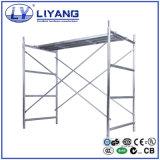 Weg durch Rahmen-Gestell-System für Aufbau-Baugerüst