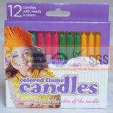 Nuova magia di stile colorata candele della fiamma