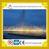 Grande fontaine interactive de flottement dynamique de musique de fontaine de fleuve