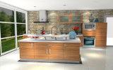 Gabinetes de cozinha UV do estilo de Austrália do lustro elevado (ZX-025)