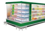 강직한 청량 음료 전시 냉장고 음료 냉장고 전시 진열장