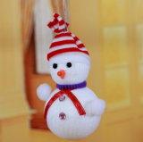 Bouquet d'ornement de rayures Bonhomme de neige de Noël, articles de Noël