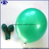 2017 neue Ankunfts-Grün-Latex-Ballon Runde Helium-Ballon für Partei-Dekoration