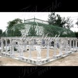 Marble Stone Granite Gazebo Metrix Carrara Gazebo Mgz-266