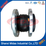 Alta Temperatura DN200 sola esfera de goma flexible de Dilatación