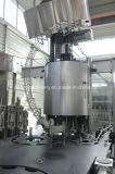 ガラスビンアルコール満ちるパッキング機械