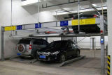 Elevador 2015 do estacionamento do carro que constrói o sistema automático do estacionamento do carro do enigma