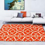Coperta di zona dell'interno molle colore moderno di progettazione geometrica di multi