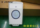 iluminación externa accionada solar 6W-120W con el sensor del detector de movimiento