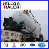 Fábrica Selling 45m3 Bulk Cement Semi Trailer com Compressor