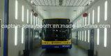 Cabina larga de la pintura de aerosol del autobús de la alta calidad, línea máquina de la capa