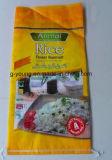 pp. gesponnener Beutel des Reis-25kg mit Firmenzeichen-Drucken-niedrigem Preis