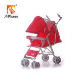 Modelo 2017 novo da fábrica 3 em 1 Pram do carrinho de criança de bebê