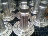 O aço personalizado forjou o eixo fazendo à máquina de giro da movimentação da transmissão do CNC do forjamento