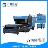 Hohe Leistung CO2 Laser-hölzerne stempelschneidene Laser-Schnitt-Maschine