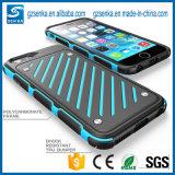 Couverture arrière de caisse dure antichoc hybride d'armure pour l'iPhone 6/6 positif