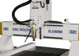 Ranurador tamaño pequeño del CNC 6090 de la buena calidad, ranurador del CNC del anuncio con la guía linear de Hinwin