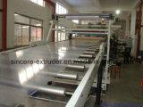Línea de acrílico de la protuberancia de la producción de la hoja del mármol de la espuma del PE EPE picosegundo del animal doméstico del PVC PP del policarbonato