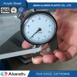 Plaque en acrylique en plastique en acrylique Plexiglas 2mm