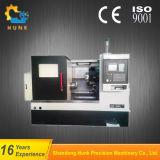 Ck40L容易な操作のマイクロの傾斜のベッドCNCの旋盤