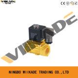 Válvula electromagnética de actuación directa de cobre amarillo de PU220 AC220V