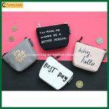 Милый бумажник кладет малое портмоне в мешки монетки мешка деньг холстины (TP-WP005)