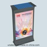 Коробка напольных солнечных объявлений Scrolling Mupis СИД светлая