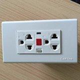 15mA GFCIの250V 16A Socket