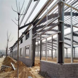 Edifício estável pré-fabricado da oficina da construção de aço