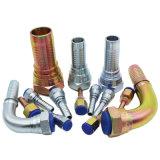 メートルゴム製ホースのステンレス鋼の油圧管付属品