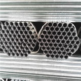 Стандартная гальванизированная стальная труба BS1387 продетая нитку на обоих концах