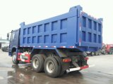HOWO 6X4 거룻배 최후 덤프 트럭