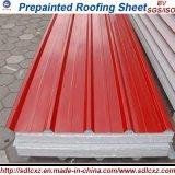 물결 모양 강철판 또는 Prepainted 0.13mm-1.3mm에 있는 장을 지붕을 달기