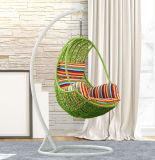 Cadeira de suspensão da cesta do ovo do balanço ao ar livre moderno do Rattan (D014B)