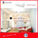 Sistema manuale/elettrico della tenda con la funzione domestica astuta