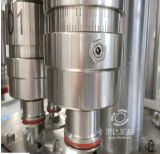 Питьевая вода 3 бутылки любимчика в 1 машине запечатывания запитка заполняя