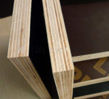 Colle phénolique contreplaqué en carton noir en bois dur