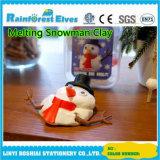 China-Plastikpotentiometer-Spielwaren für die Kinder, die Schneemann-Kitt schmelzen
