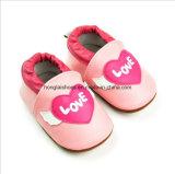 동물성 패턴: 가죽 아기 신발 1