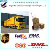 중국에서 급행 빠른 배달 업무 DHL UPS TNT 페더럴 익스프레스 특사 세계전반 (자마이카 등등)