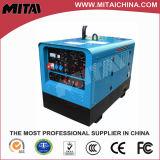 Generador accionado por el motor diesel del soldador de la operación dual