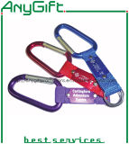 Customized Print (LAG-KC-06)를 가진 Compass를 가진 Carabiner