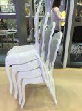El ocio moderno que cena la resina clara Bella Louis francés plástico preside a princesa Chair