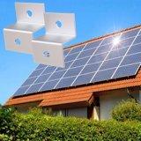 Supporti di attacco commerciali del tetto del comitato solare, sistema solare del montaggio del tetto dello stagno di alluminio