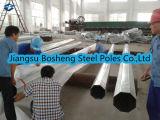 potência pólo de aço galvanizada 10m