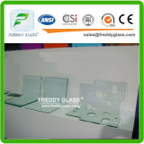 piano d'appoggio di vetro Tempered di figura rotonda di 10mm