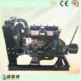 R4105p stationärer Dieselmotor mit Kupplung und Riemenscheibe