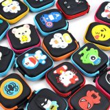 Случай хранения монетки Bluetooth наушника подарка шаржа способа
