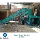 máquina de papel automática Hfa8-10 de la embaladora de 10t/H Hellobaler