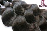 unverarbeitetes indisches Jungfrau 7A Remy Haar